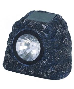 Solarlicht Granitstein-Spot