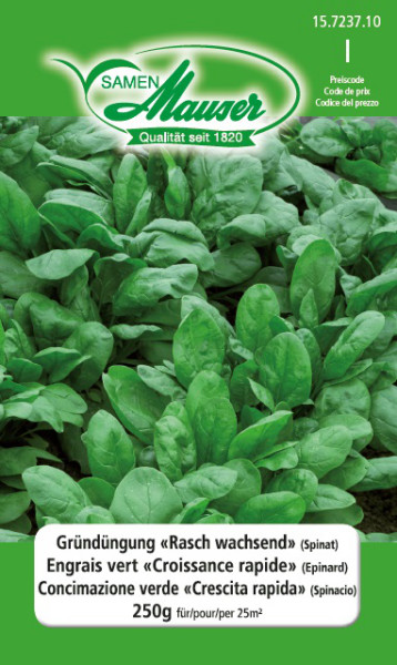 Engrais vert 'Croissance rapide' (Epinard) 250 g (25 m2)