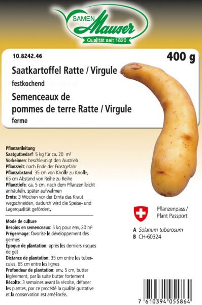 Saatkartoffel 'Ratte/Virgule' 400 g