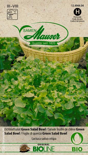 Knospe Bio Eichblatt Green Salad Bowl