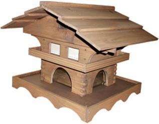 Vogelfutterhaus Swiss Chalet FSC