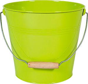 Zink-Eimer hellgrün