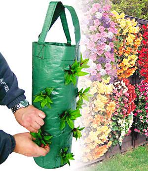 Sac suspension cascade pour fleurs
