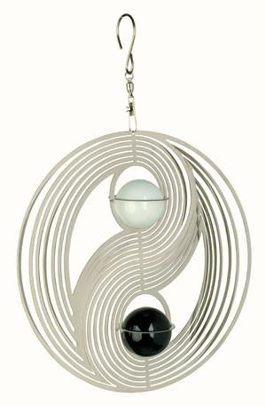 Spinners à vent COSMO Yin Yang avec deux boules