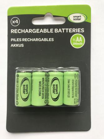 Akku-Batterien 1/3 AAA