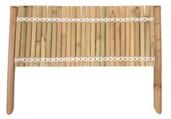 Panneau en bambou pour bordure