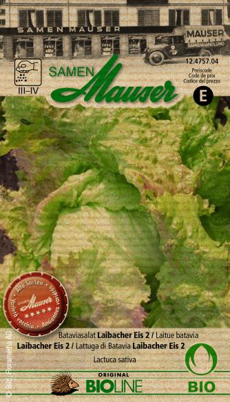 Knospe Bio Bataviasalat Laibacher Eis 2