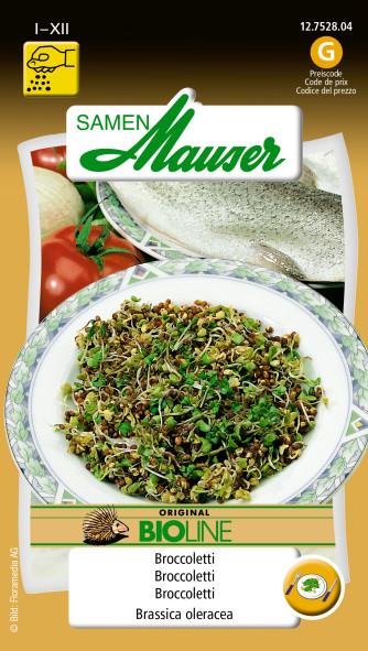 BIO-Speisekeimlinge Broccoletti
