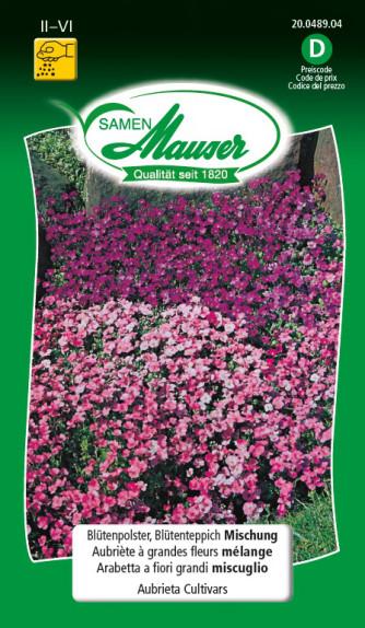 Blütenpolster, Blütenteppich Mischung