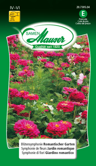 Blütensymphonien Romantischer Garten