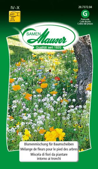 Blumenmischung für Baumscheiben
