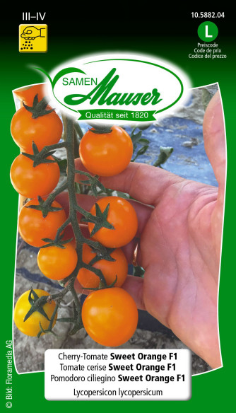 Tomate cerise Sweet Orange F1