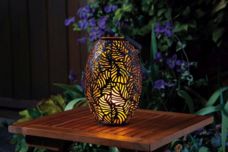 Cool Flame Silhouette Lantern