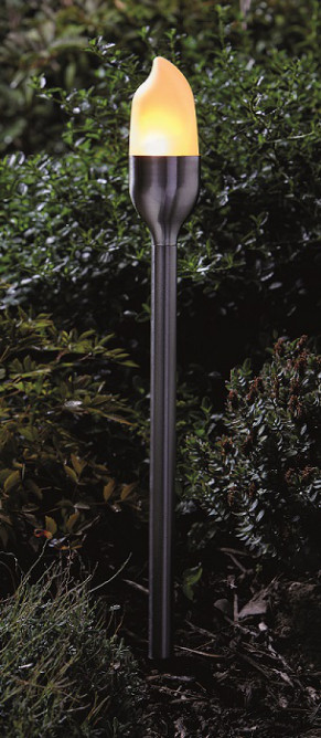 Cool Flame Steel Garden Torch