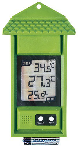 Digital Thermometer Min Max