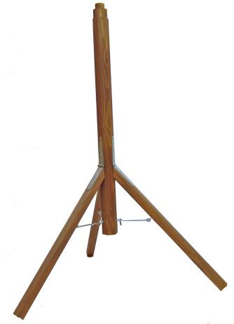Dreibein-Holzständer zu Futterhäuser