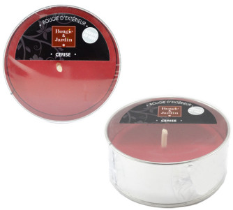 Bougie parfumée cerise Ø 102 mm