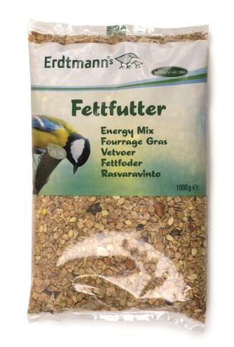 Vogelfutter Fettfutter für Vögel, 1 kg