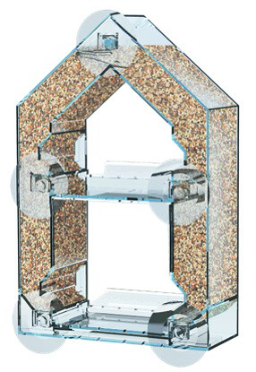 Futterhaus transparent