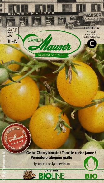 Knospe BIO Gelbe Cherrytomate