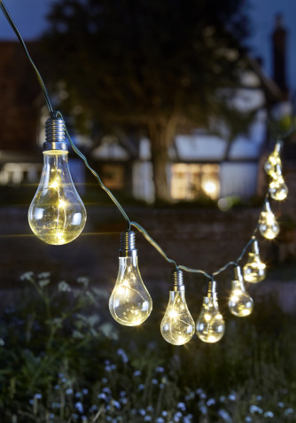 Eureka Lightbulb String Lights