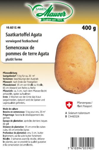 Semenceaux de pommes de terre 'Agata' 400 g