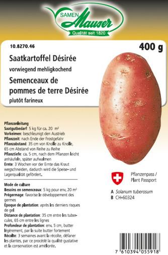 Saatkartoffel 'Désirée' 400 g
