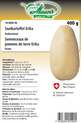 Saatkartoffel Erika 400 g