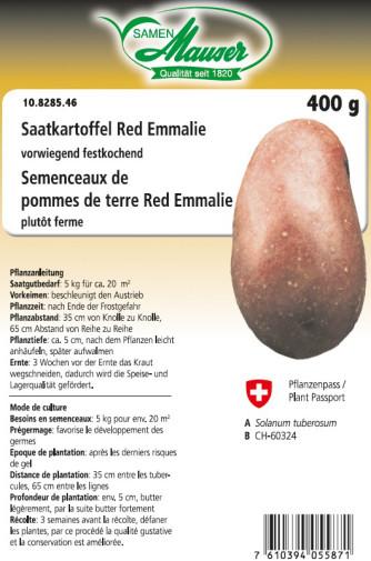 Saatkartoffel 'Red Emmalie' 400 g