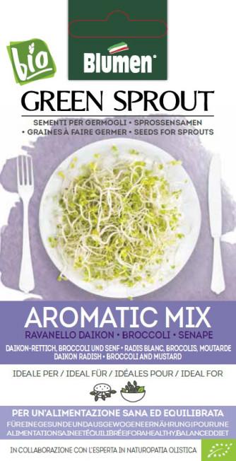 BIO Sprossensamen Aromatic Mix 40g