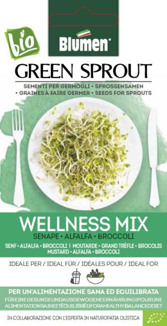 BIO Sprossensamen Wellness Mix 40g