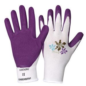Kinderhandschuh 'KID.NERINE' violette