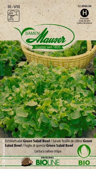 Bourgéon BIO Salade feuille de chêne Green Salad Bowl