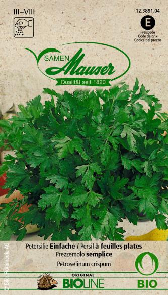 Bourgéon BIO Persil à feuilles plates
