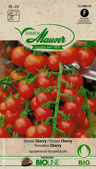 Knospe Bio Tomate Cherry