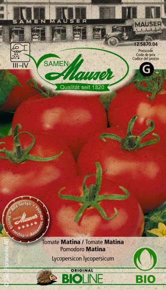 Bourgéon BIO Tomate Matina