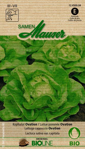 Knospe Bio Kopfsalat Ovation