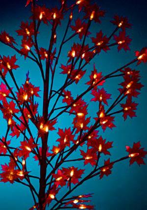 LED-Baum in Blüte