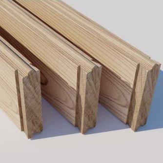 Set de trois planches 43 cm