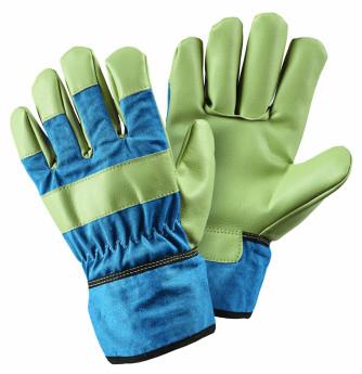 Lederhandschuh grün