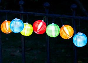 Lichterkette 'China-Laternen'
