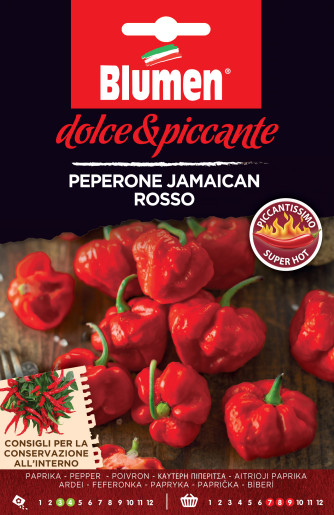 Paprika Jamaican rosso