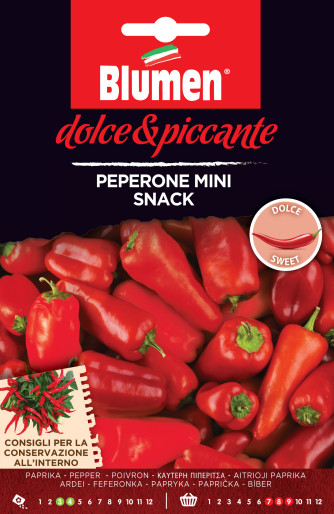Paprika Mini Snack