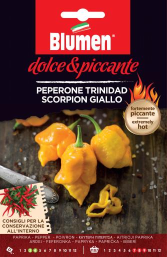 Paprika Trinidad Scorpion giallo