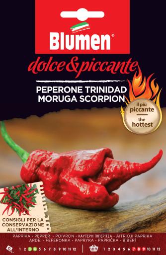 Paprika Trinidad Scorpion Rosso