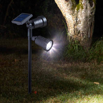 Solarlampe Duet Spotlight