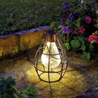 Solarlampe Eureka Firefly Bronze