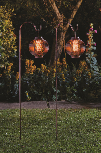 Lantern solaire Flmaing Forly 2 pcs