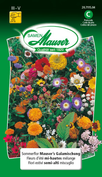 Sommerflor Mauser's Galamischung