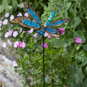 Stakes Dragonfly Delight Blue